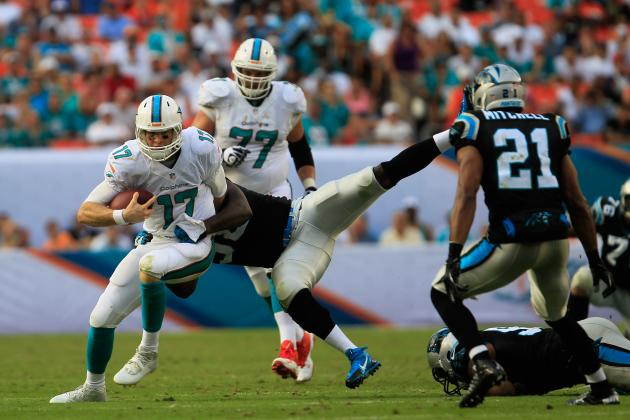 Carolina Panthers vs. Miami Dolphins: 7 Takeaways from Collapse Against Carolina