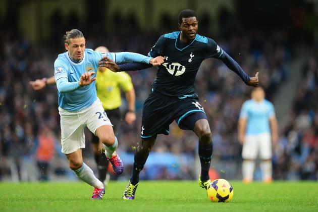 Emmanuel Adebayor Transfer Rumours: Latest News on the Tottenham Star