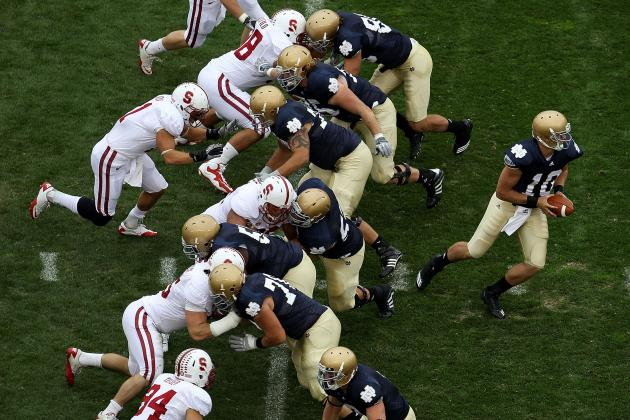 Notre Dame vs. Stanford: Top 10 Moments in Rivalry History