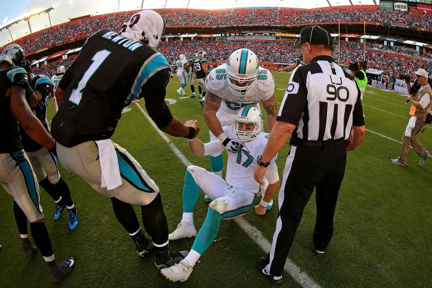 Panthers vs. Dolphins: Full Roster Report Card Grades for Miami
