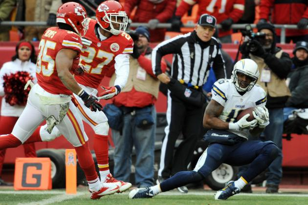 San Diego Chargers Position Grades vs. Kansas City Chiefs