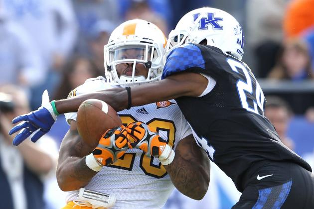 Tennessee Volunteers vs. Kentucky Wildcats Complete Game Preview