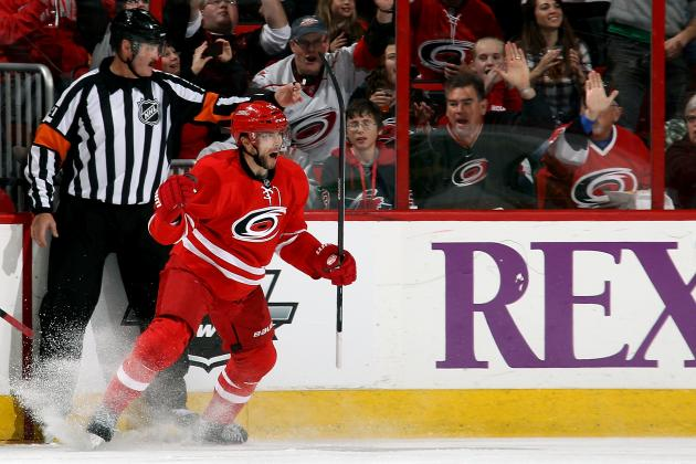Ranking the Carolina Hurricanes' Top 5 Goals of 2013-14 NHL Season