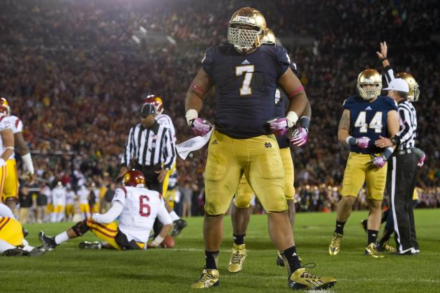 Notre Dame vs. Stanford: Power Ranking the Top 5 NFL Draft-Eligible Players