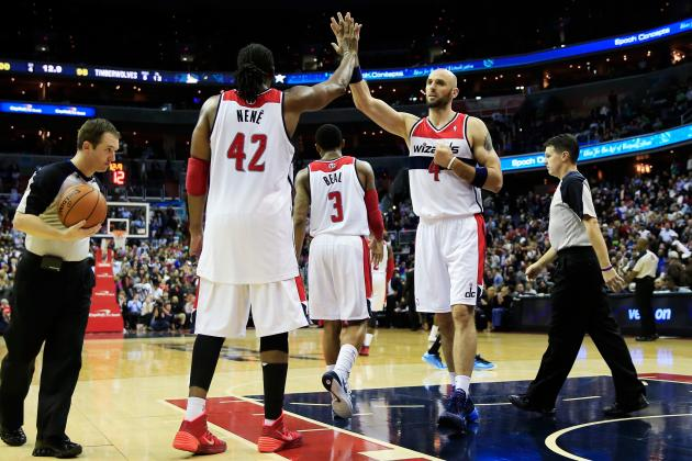 Initial Report Card Grades for Every Key Washington Wizards Player