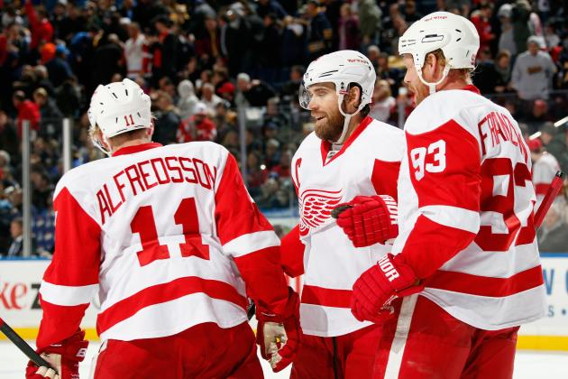 Detroit Red Wings' 5 Most Pleasant Surprises in 2013-14