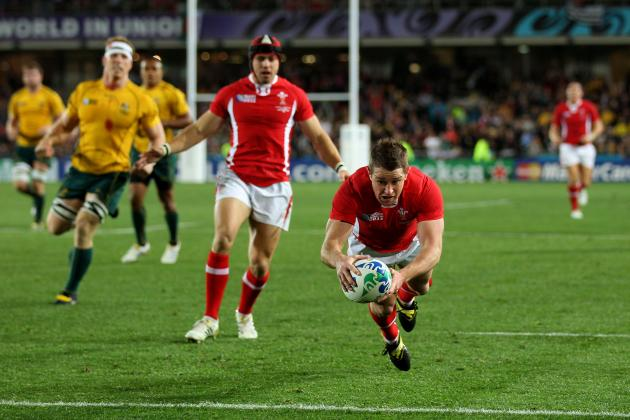 Wales vs. Australia: Ranking the 6 Best Tries in Rivalry