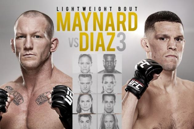 TUF 18 Finale: Maynard vs. Diaz Betting Odds and Predictions