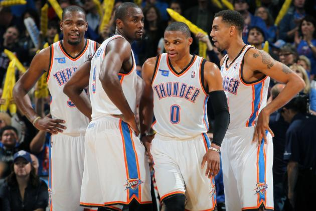 Initial Report Card Grades for Every Key OKC Thunder Player