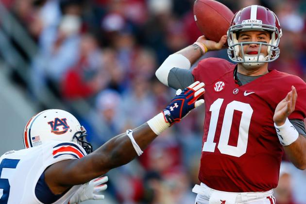 Power Ranking the Top 10 NFL Draft-Eligible Prospects in the 2013 Iron Bowl