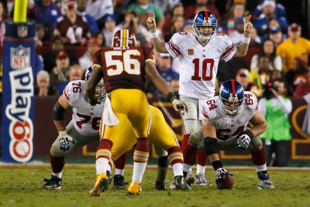 New York Giants: 5 Players to Watch vs. Washington Redskins