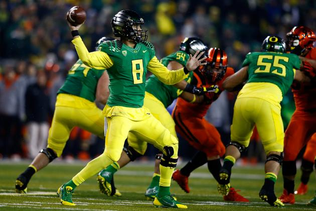 Oregon State vs. Oregon: 10 Things We Learned in Ducks' Win