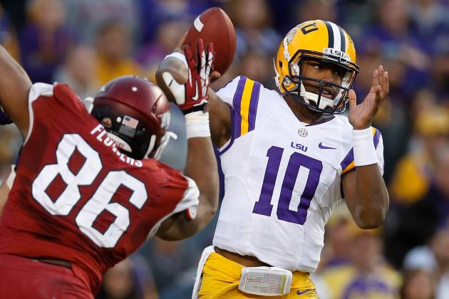 LSU Football: Is the Starting QB Job Anthony Jennings' to Lose?