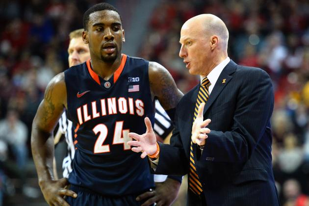 Illinois Basketball: Potential Trap Games for Illini in 2013-14