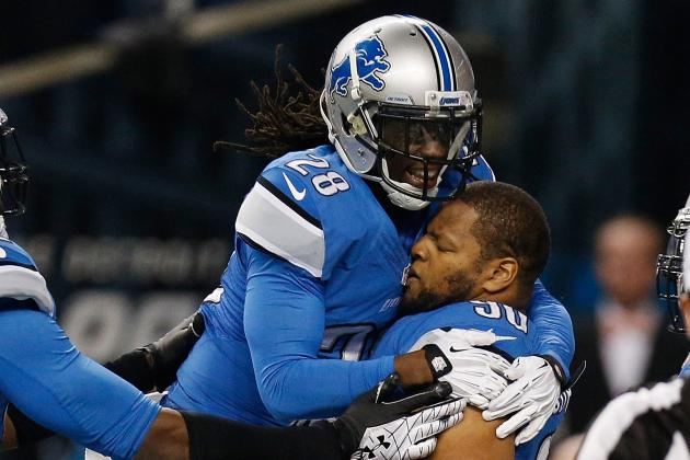 Green Bay Packers vs. Detroit Lions: Full Lions Report Card for Every Position