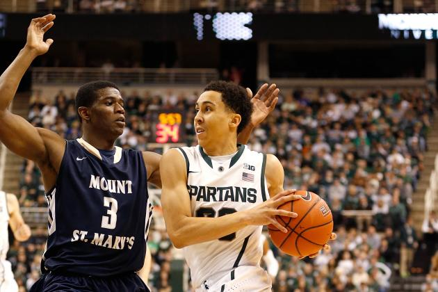 Michigan State Basketball: Stock Watch for Spartans Starters