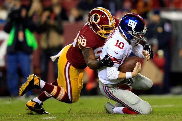 New York Giants vs. Washington Redskins: Takeaways from Washington's 24-17 Loss
