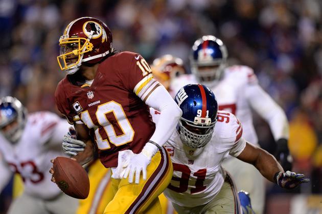 New York Giants vs. Washington Redskins: Full Roster Grades for Washington