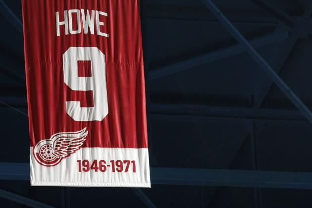 Ranking the 5 Best Wingers in Detroit Red Wings History