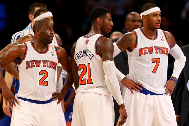 NY Knicks Power Rankings: Rating Every Player After First Six Weeks