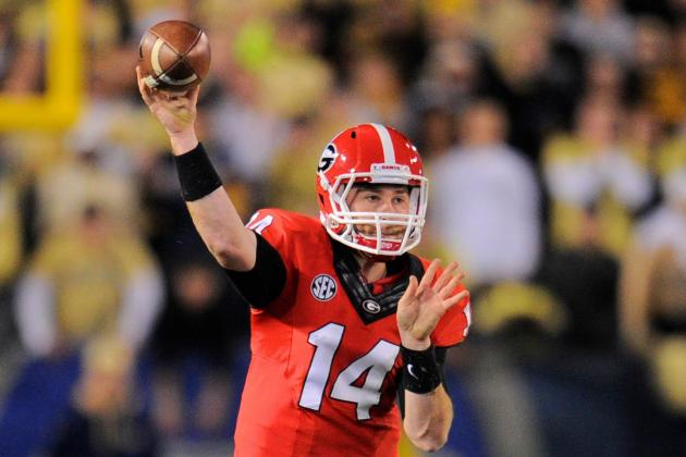 Georgia Football: 5 Things We Need to See from Hutson Mason in Dawgs' Bowl Game