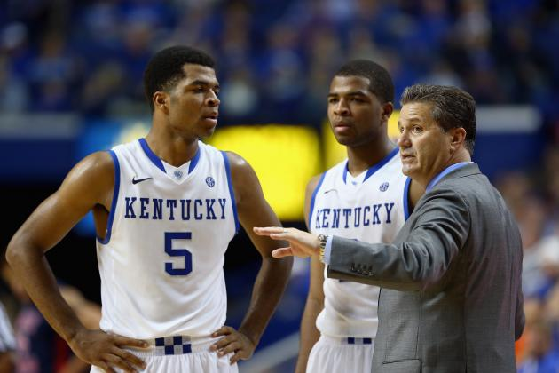 Kentucky Basketball: Stock Watch for Wildcats Starters