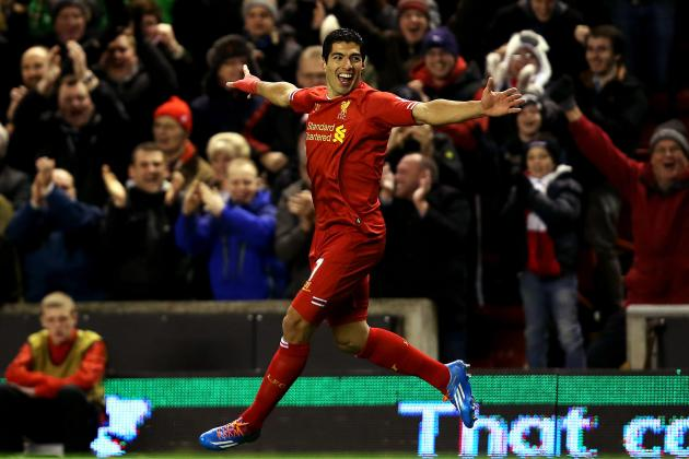 Premier League Player Rankings: Suarez Stuns, Lukaku Soars, Rooney Falters