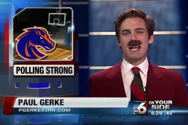 Sportscasters Sneaking in References