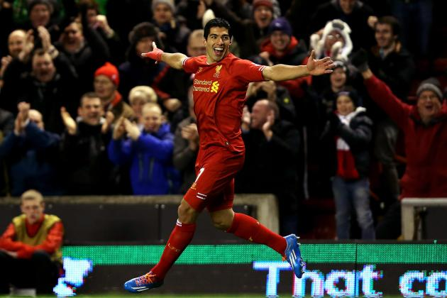 Luis Suarez and the 30 Greatest Liverpool Strikers of All Time