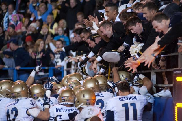 Armed Forces Bowl 2013: Middle Tennessee vs. Navy TV Info, Predictions and More