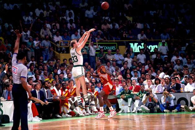 Larry Bird's 25 Greatest Career Moments to Honor Larry Legend's 57th Birthday