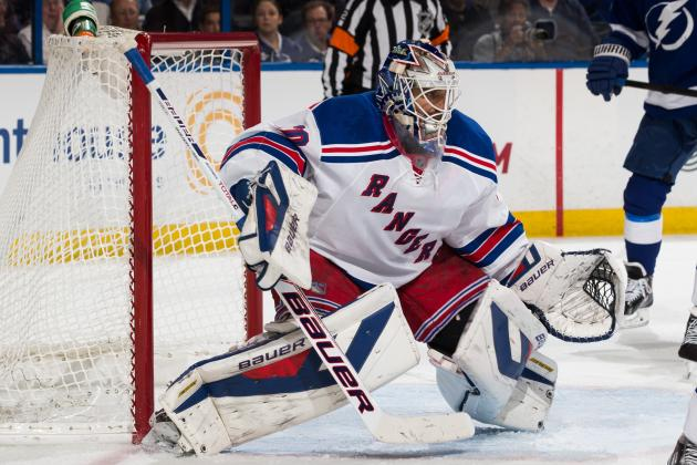 The Best Saves from New York Rangers Goalies in 2013-14