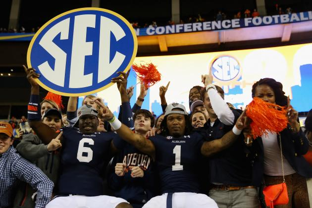 Power Ranking the 5 Teams Most Likely to Win the SEC in 2014