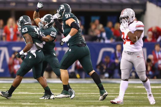 Ohio State vs. Michigan State: 10 Things We Learned in 2013 Big Ten Championship