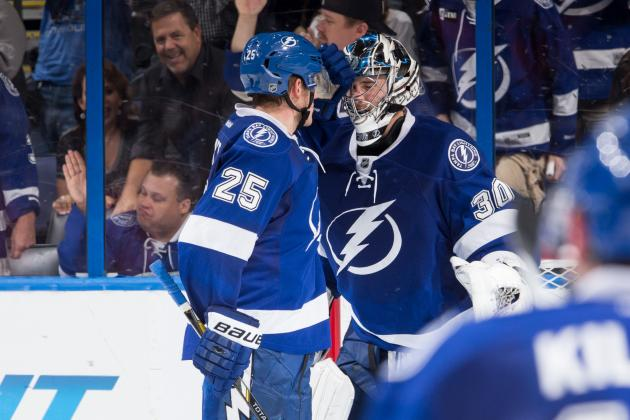 The Best Saves from Tampa Bay Lightning Goalies in 2013-14