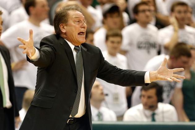 Michigan State Basketball: Spartans' Best Situational Lineups in 2013-14