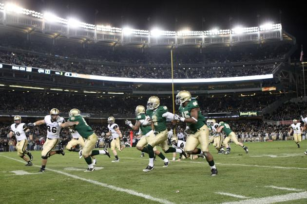 New Era Pinstripe Bowl: Notre Dame Fighting Irish vs. Rutgers Scarlet Knights