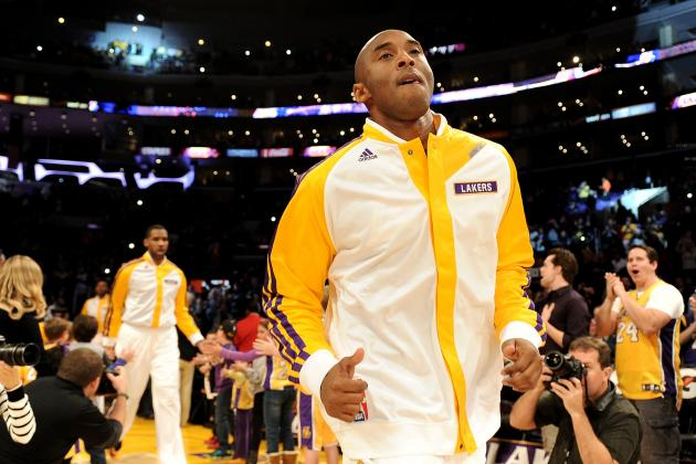 Grading Kobe Bryant's First Game Back from Achilles Injury for LA Lakers