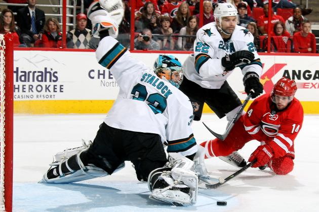 The 5 Best Saves from San Jose Sharks Goalies in 2013-14