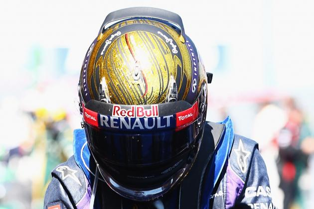 Sebastian Vettel's Helmet Sells for £58K at Auction