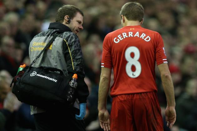 How Liverpool Will Cope Without Steven Gerrard for Tough Premier League Run