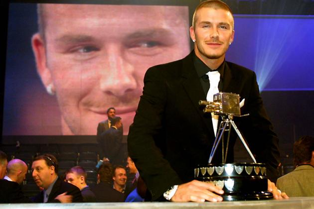 Beckham, Giggs and Gascoigne and the Footballers at SPOTY