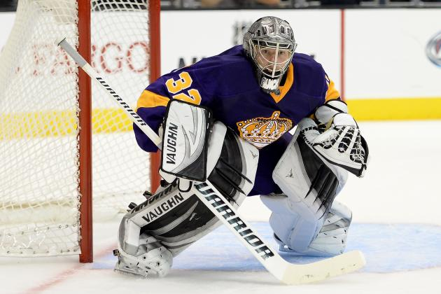 The Best Saves from Los Angeles Kings Goalies in 2013-14