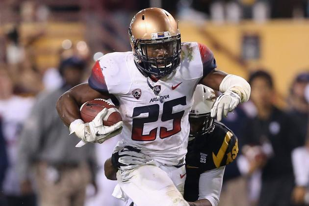 Arizona Wildcats Football: Top 5 Reasons Why Ka'Deem Carey Snubbed for Heisman