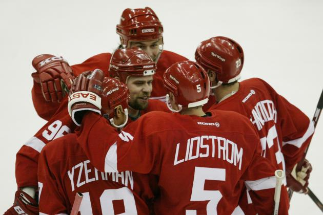 Ranking the 5 Best Playmakers in Detroit Red Wings History