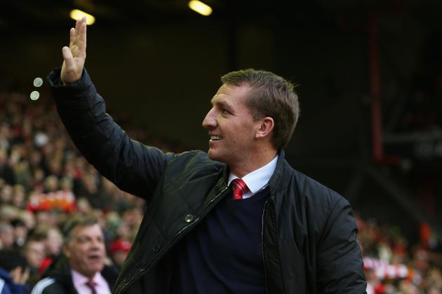 6 January Transfer Moves Brendan Rodgers Must Consider for Liverpool
