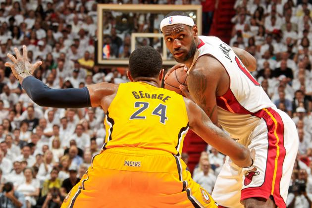 NBA Superstar Rankings: Kevin Durant and Paul George Chasing Down LeBron James
