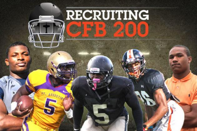 Top 200 College Football Recruits for Class of 2014: Recruiting Season Edition