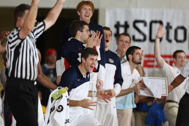 Gonzaga Basketball: Bulldogs' Best Situational Lineups in 2013-14