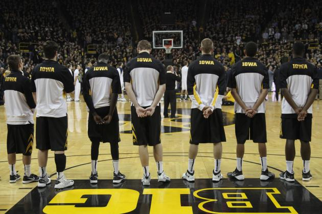Iowa Hawkeyes' Best Situational Lineups in 2013-14